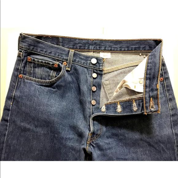 9f82c02d Levi's Jeans   Vintage Levis 501 Xx Blue Denim Button Fly   Poshmark